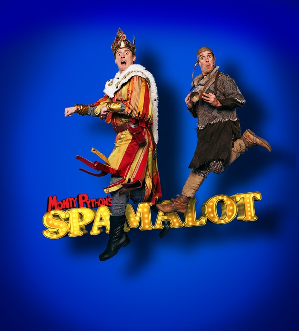 Dick and Dom in Spamalot. Official image