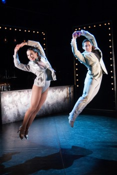 Katy Lowenhoff as Gin and Simon Hardwick as Tonic ©Marc Hankins